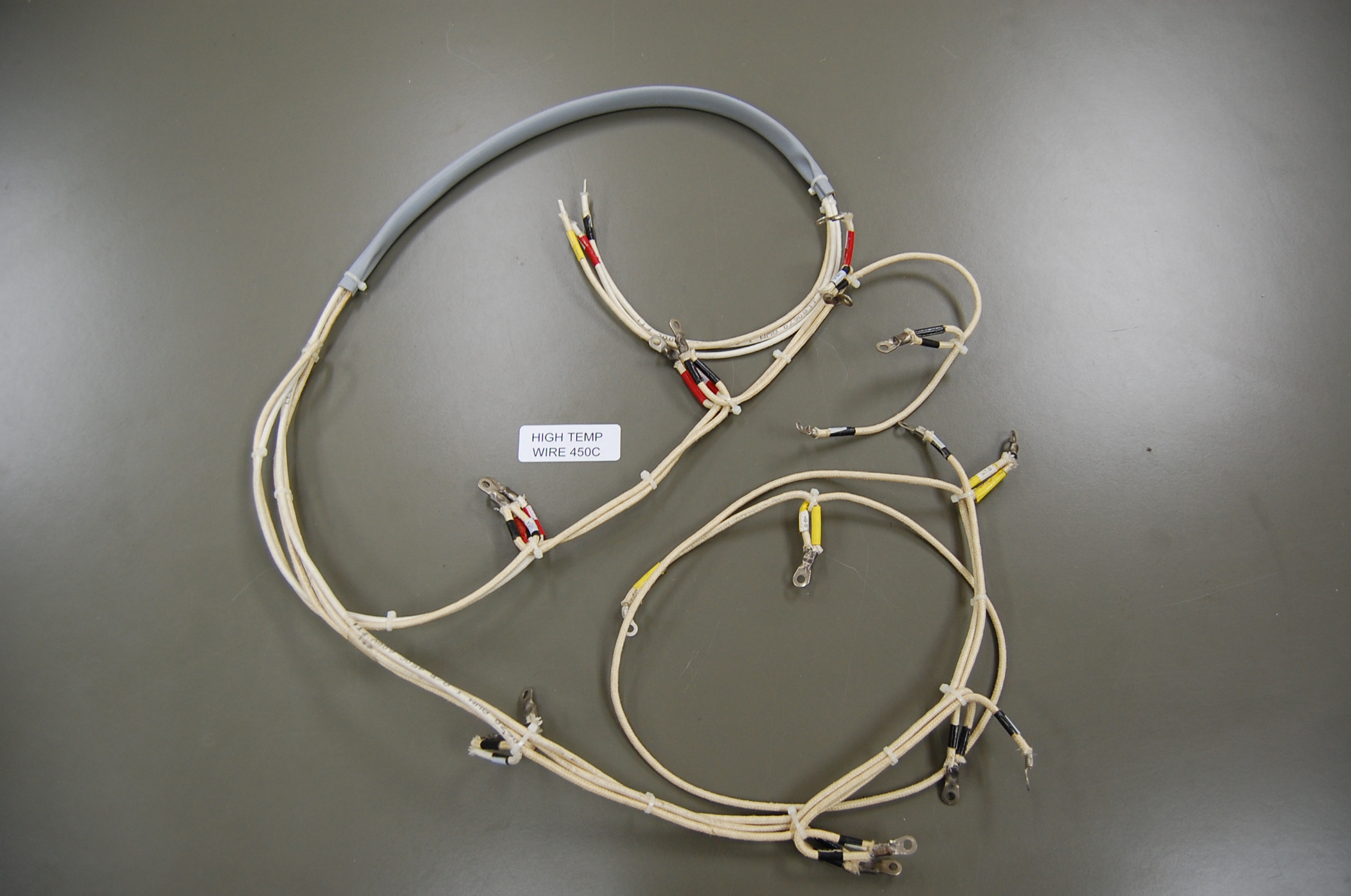 Capabilities Edm Inc High Temperature Wiring Harnesses Simple Complex Temp Up To 450c